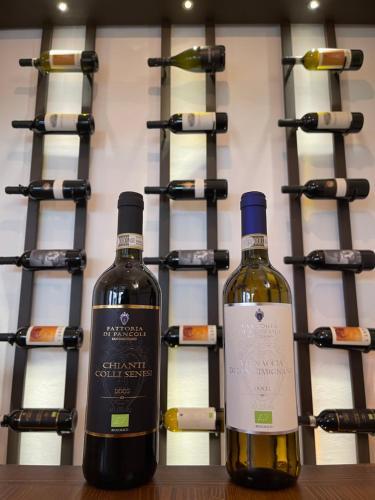 Drinks at Fattoria Di Pancole