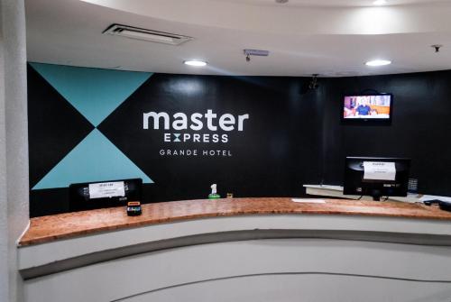 The lobby or reception area at Master Grande Hotel - Centro Histórico