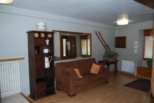 A seating area at Pension Casa Vicenta