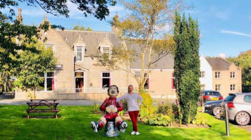 A family staying at Pinehurst Lodge Hotel - Aberdeen
