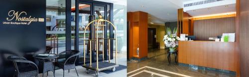 Lobby/Rezeption in der Unterkunft Nostalgia Hotel (SG Clean)