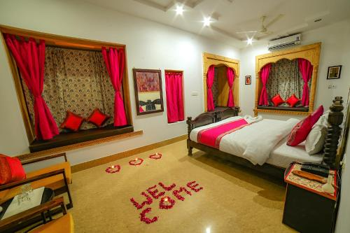 A bed or beds in a room at Hotel Turban House