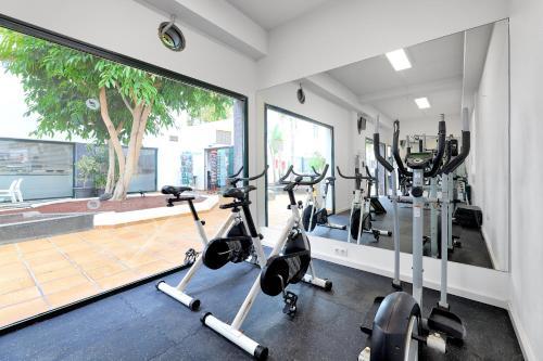 Gimnasio o instalaciones de fitness de Hotel THB Flora