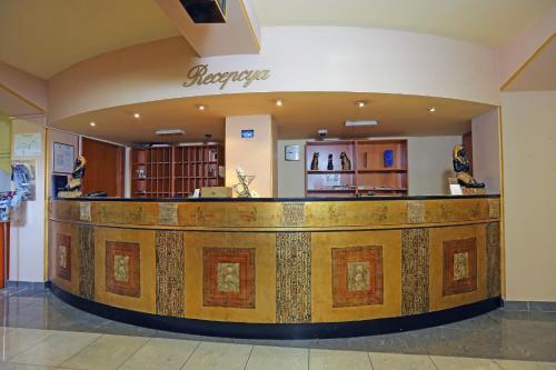The lobby or reception area at Hotel Faraon