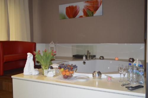 A bathroom at Hotel Ajax