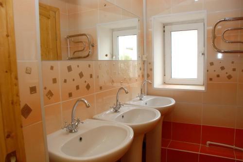 Ванная комната в PichuginHall Hostel