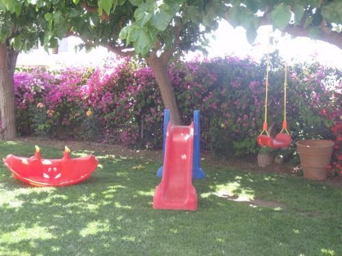 Children's play area at Nikolas Apartment