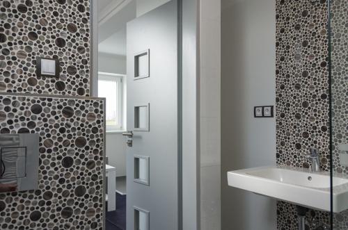 Koupelna v ubytování Villa Kiwi