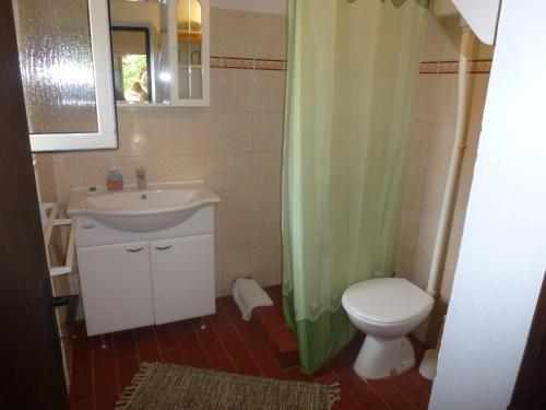 A bathroom at Apartments Petrali