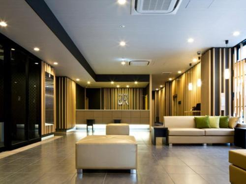 The lobby or reception area at Green Rich Hotel Kyoto Station South (Artificial hot spring Futamata Yunohana)
