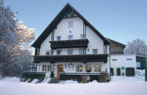 Gasthaus zur Traube during the winter