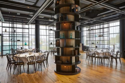 A restaurant or other place to eat at Hilton Reykjavik Nordica