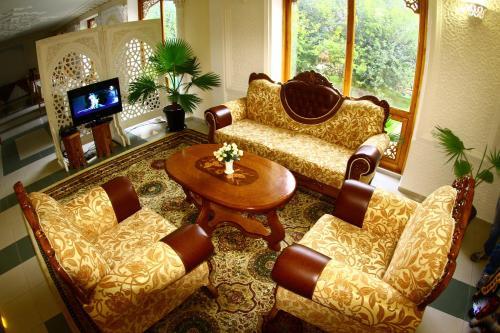 Лаундж или бар в Hotel Caravan Serail
