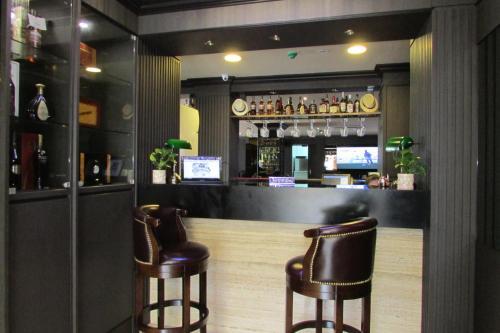 Lounge oder Bar in der Unterkunft The Southbridge Hotel (SG Clean)