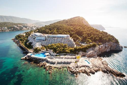 Hotel Dubrovnik Palace a vista de pájaro