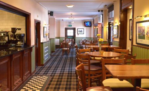 A restaurant or other place to eat at The Ayrshire and Galloway