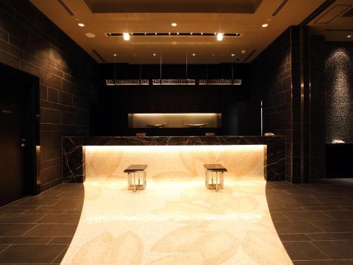 The lobby or reception area at Hotel Monterey Hanzomon