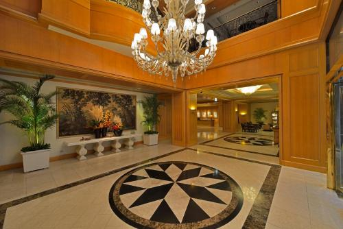 The lobby or reception area at The Sherwood Taipei