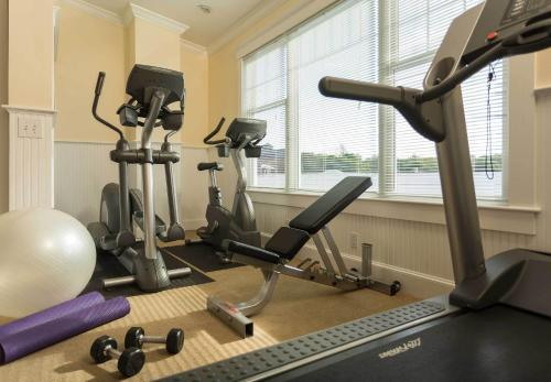 The fitness center and/or fitness facilities at Lord Camden Inn