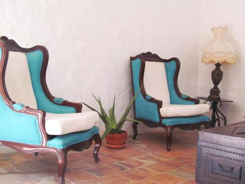 Гостиная зона в La Castiza