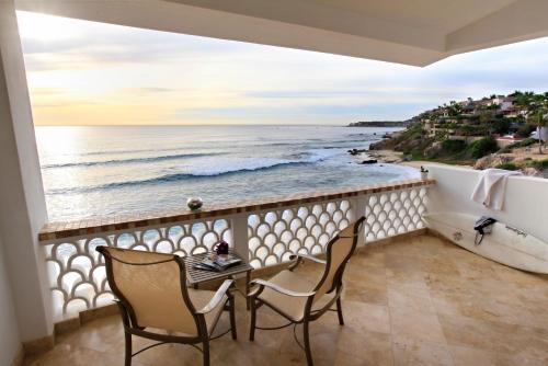 Uma varanda ou terraço em Cabo Surf Hotel