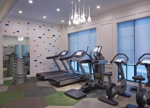 The fitness center and/or fitness facilities at SO/ Sofitel Singapore (SG Clean)