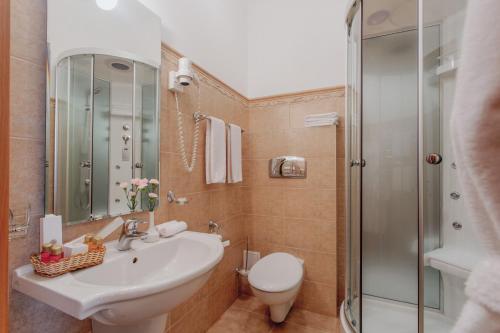 Un baño de Hotel Kupechesky