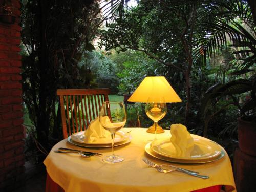 A restaurant or other place to eat at Villa Ganz Boutique Hotel