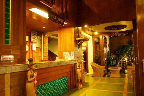 Lobby/Rezeption in der Unterkunft Mac Resort Hotel