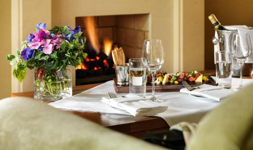 Restaurant ou autre lieu de restauration dans l'établissement Druids Glen Resort