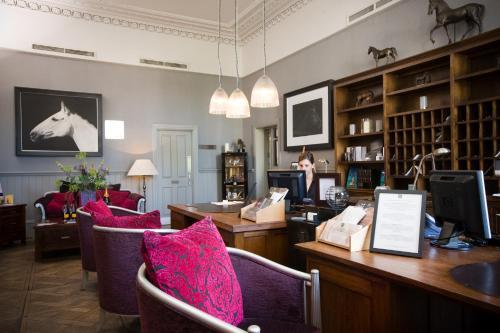 The lobby or reception area at Hotel du Vin Cheltenham