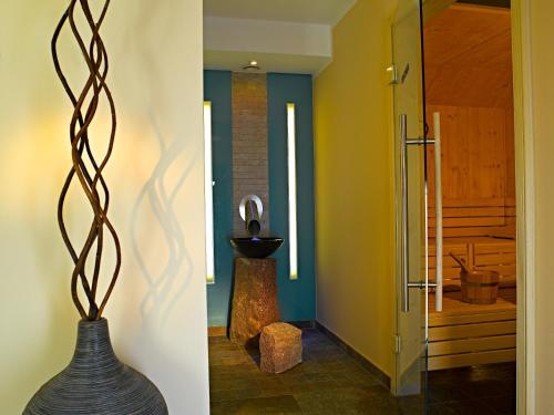 Ein Badezimmer in der Unterkunft Hotel Innsbruck