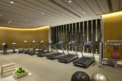 The fitness center and/or fitness facilities at The Leela Palace New Delhi