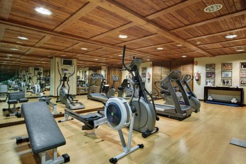 Gimnasio o instalaciones de fitness de Rafaelhoteles By La Pleta