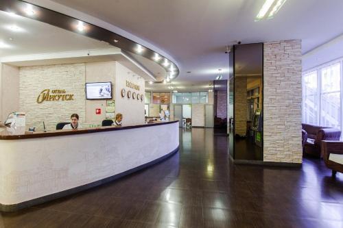 Лобби или стойка регистрации в Отель Иркутск