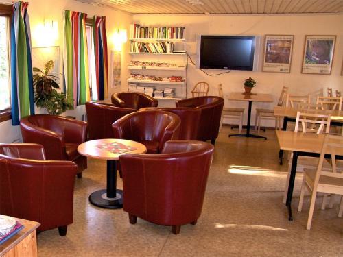 Loungen eller baren på Gaffelbyn - Sundsvalls Vandrarhem