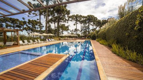 A piscina em ou perto de Hotel Toriba