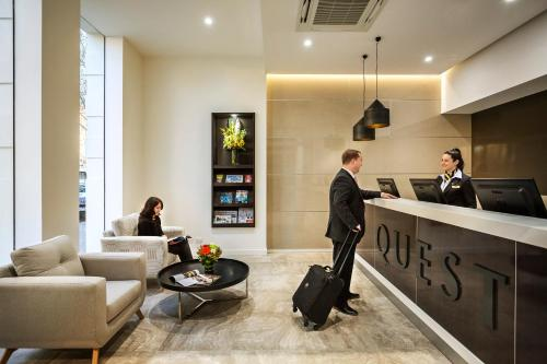 The lobby or reception area at Quest King William South