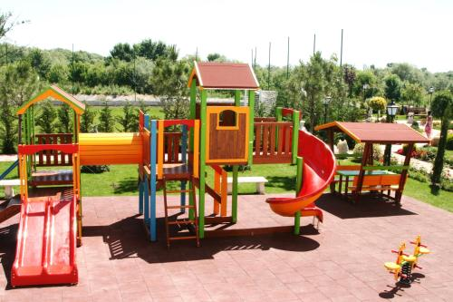 Children's play area at Therma Palace - Mineral Pool & Luxury Restaurant