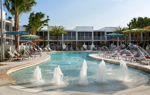 The swimming pool at or near B Resort and Spa Located in Disney Springs Resort Area