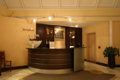 The lobby or reception area at Hotel Jott