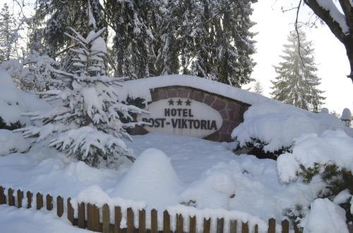 Hotel Post Victoria en invierno