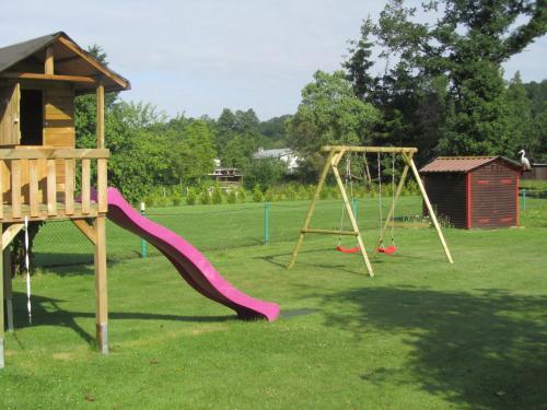 Ein Kinderspielbereich in der Unterkunft Pension Lippert