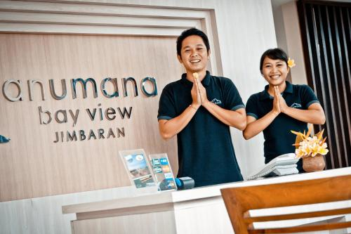 Hall ou réception de l'établissement Anumana Bay View