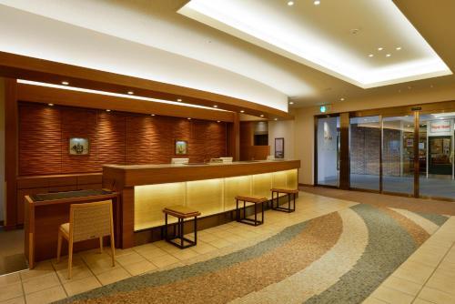 The lobby or reception area at JR Kyushu Hotel Nagasaki