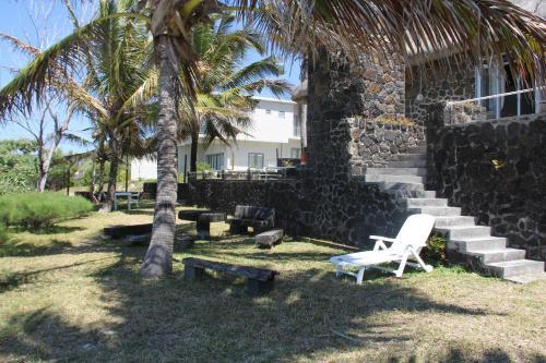 Jardin de l'établissement Keravel Bungalows