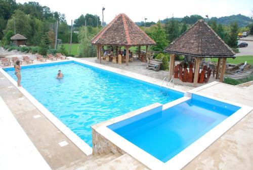 The swimming pool at or near Resort Balkis