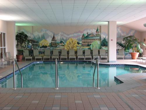 The swimming pool at or near Osthoff Resort