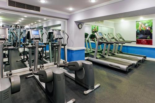 The fitness center and/or fitness facilities at Hamilton Hotel - Washington DC