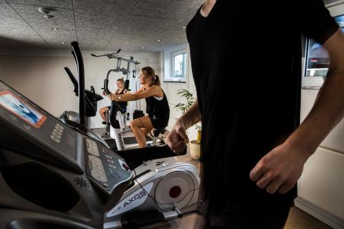 Fitnesscentret og/eller fitnessfaciliteterne på Filskov Kro